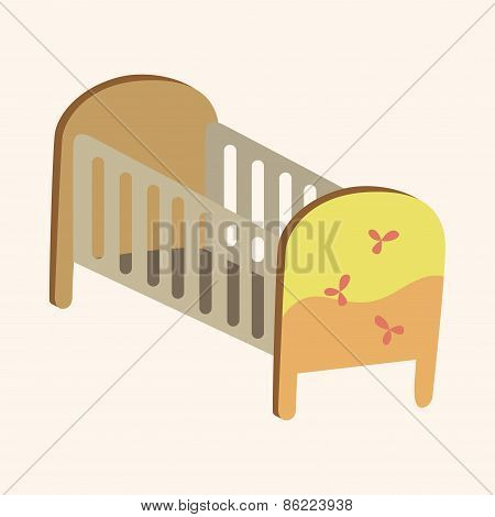 Baby Bed Theme Elements