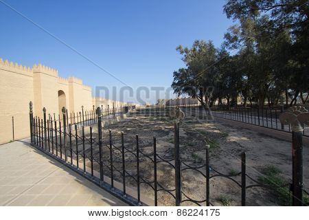 The Wall Of The City Of Babylon