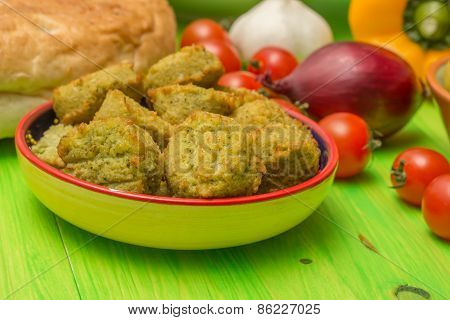 Falafel And Other Middle Eastern Ingredients