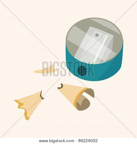 Pencil Sharpeners Theme Elements