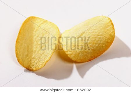 two potato chips