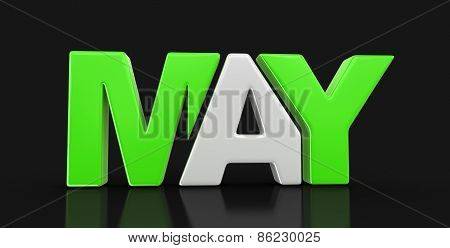 May  (clipping path included)