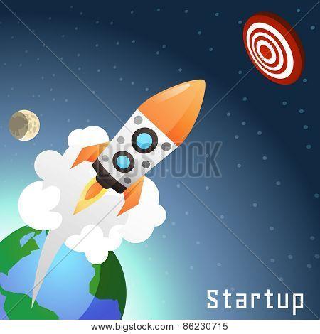 Startup Rocket Concept
