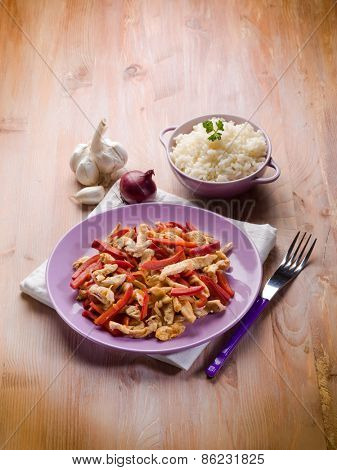 mexican chicken with rice