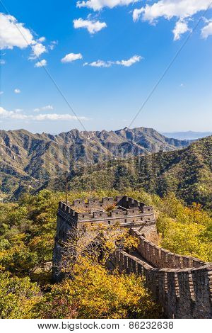 The Beacon Tower On The Great Wall