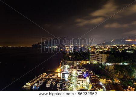 Night Scene Of Sorrento