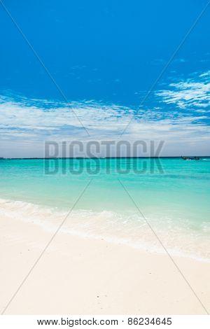 Idyllic Scene Lagoon Landscape