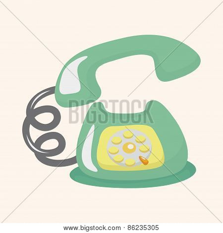Telephone Theme Elements