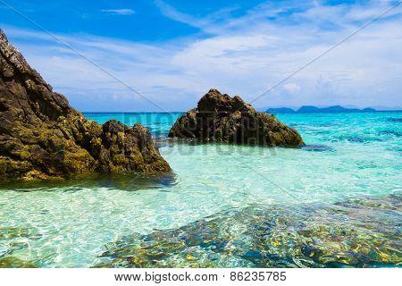 Beautiful Sea Sunny Shore