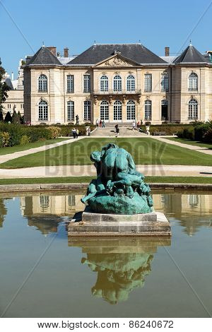 The Museum of Rodin  in Paris. France.