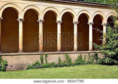 Friedenskirche Facade Columns