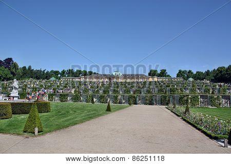 The Sanssouci Palace