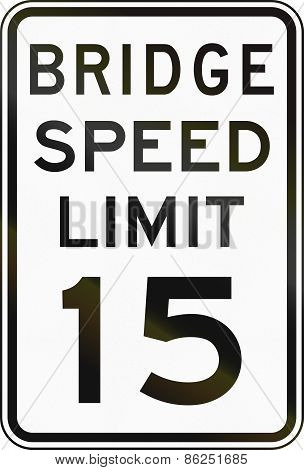 Bridge Speed Limit