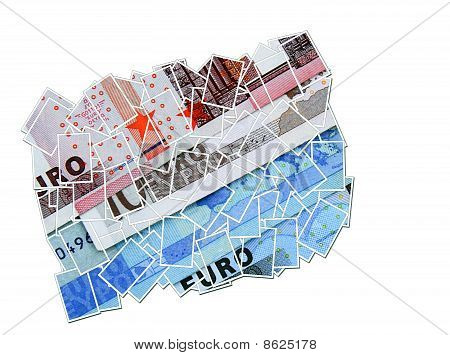 Euro Money Collage