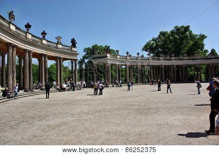 Courtyard Schloss Sanssouci