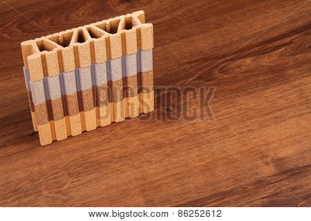 This Is A Composite Material For Terrace On The Wood