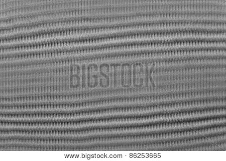 Textile Intertwining Texture Of Gray Color