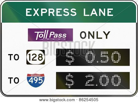 Express Lane - Tollpass Only