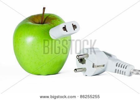Apple With Socket