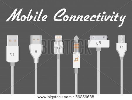 Connectors For Mobile Devices