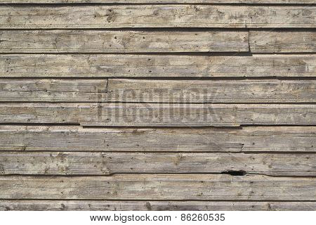 Old wooden board surface as abstract background