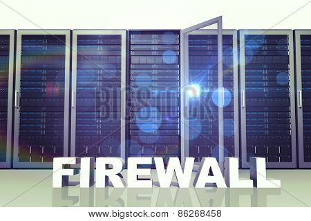 firewall against server towers