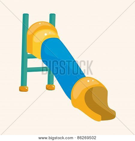 Playground Slide Theme Elements