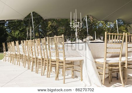 Dining Decor Chairs Tables Tent