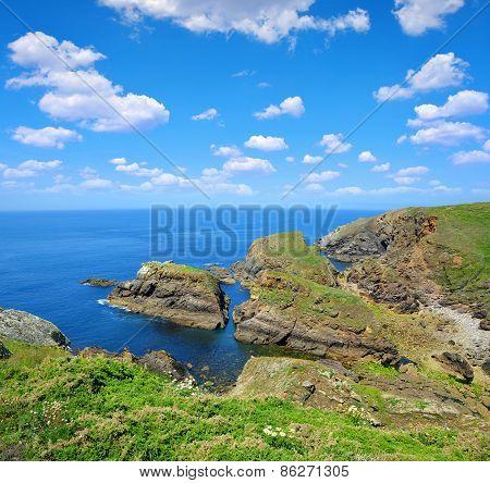 Pointe du Van in Brittany, Northern France