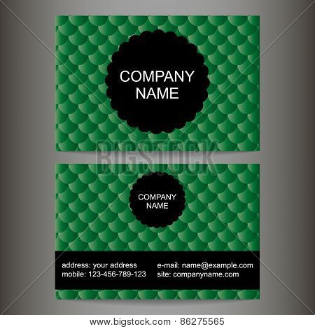 Stylish Colorful Business Card