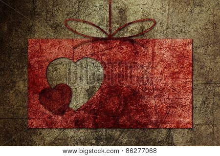 background greeting Valentine wedding shape heart