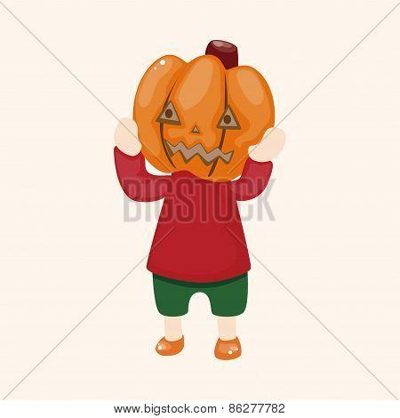 Halloween Party Costume Theme Elements