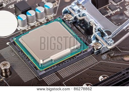 Electronic Collection - Cpu Socket On Motherboard