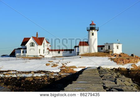 Eastern Point Lighthouse, Cape Ann, Massachusetts