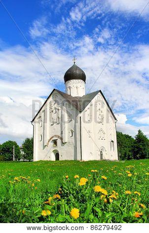 Church Of The Transfiguration In Veliky Novgorod, Russia