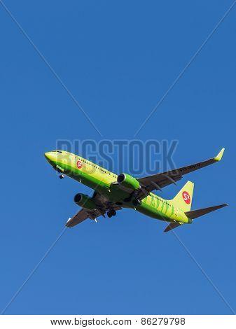 A Passenger Plane Boeing 737-800