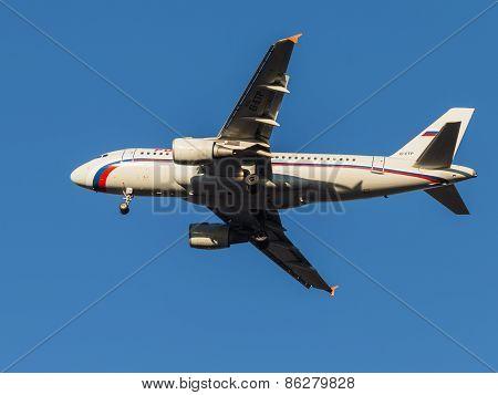 Airbus A319 Passenger Aircraft