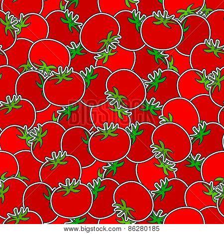 Tomato Seamless Background