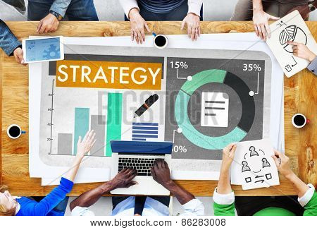 Strategy Business Brainstorming Planning Concept