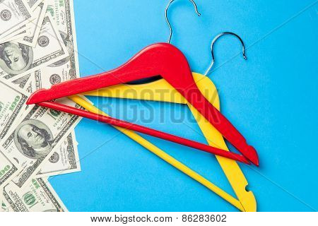 Hangers And Dollars Near Pape