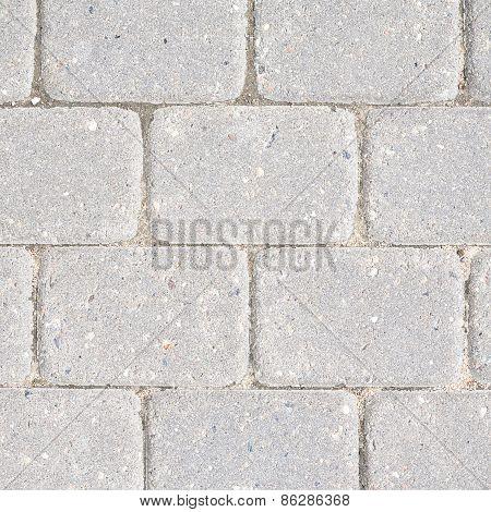 Stone tile floor paving
