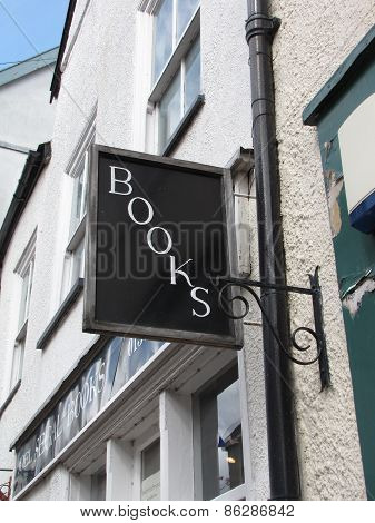 Book Shop Sign