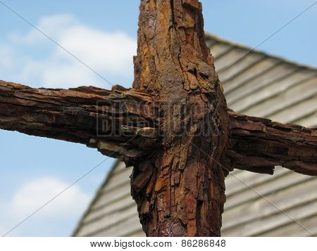 Rusted Iron Cross