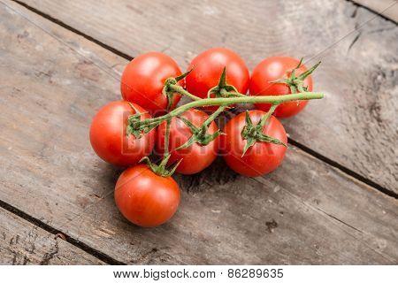 Bio cherry tomato