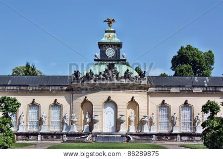 Palace In The Park Sanssouci