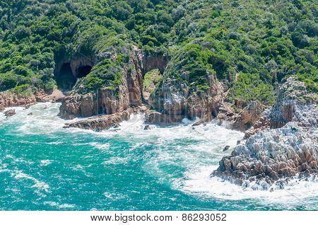 Western Side Of The Heads At Knysna Lagoon