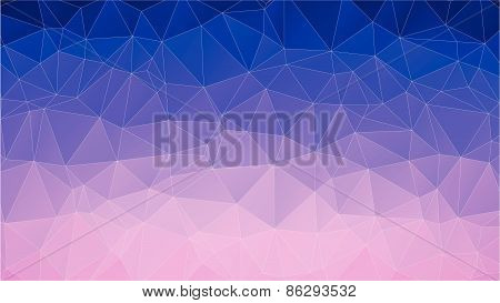 polygonal design. Abstract geometrical background