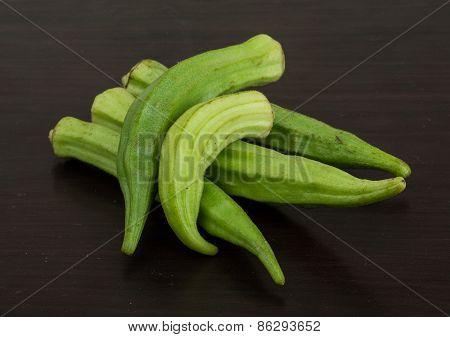Okra Vegetables