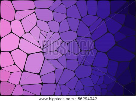 Violet mosaic abstract background