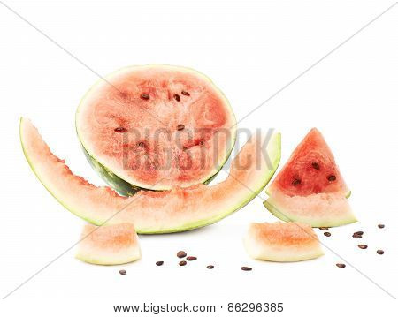 Watermelon fruit composition isolated
